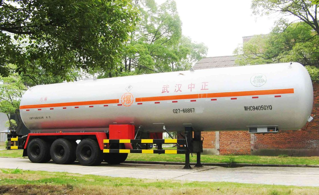 Large Load Transport Semi Trailer For Liquefied Gas Propylene